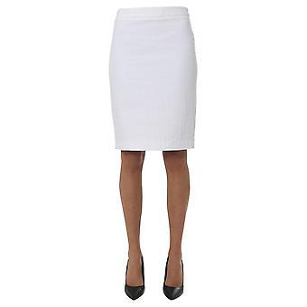 Boutique Moschino 01111190001 Dames's Witte Katoenrok