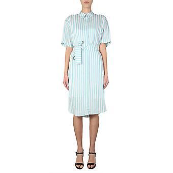 Ps By Paul Smith W2r351dba3054640 Women's Light Blue Viscose Dress