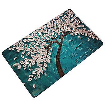 YANGFAN غير زلة الفانيلا زيت اللوحة شجرة حمام حصيرة