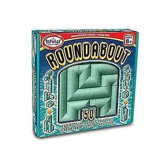 Popular - roundabout - brainteaser puzzle