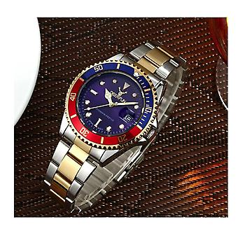 Genuine Deerfun Homage Watch Blue Red Silver Gold Date Watches Top Quality Sale