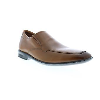 Clarks Bansley Schritt Herren braun breite Loafer & Slip Ons Casual Schuhe