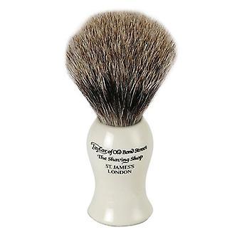Taylor starých Bond Street Badger vlasy holenie kefa-Ivory Medium