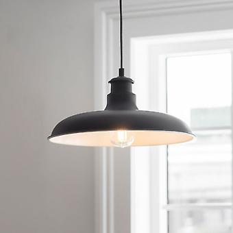 Garden Trading Toulon Pendant Light In Carbon