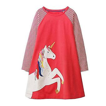 Unicorn long sleeve dress for kids