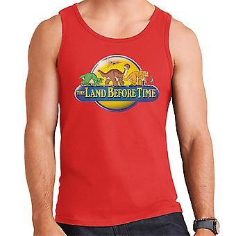 The Land Before Time Logo Men's Vest