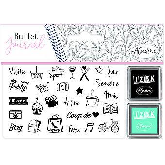 Aladine Bullet Journal Foam Stamps Culture Loisirs