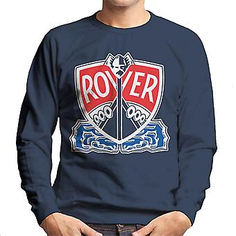 Rover Logo With Border British Motor Heritage Men's Sweatshirt