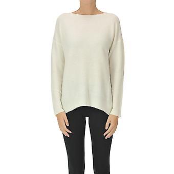 Fabiana Filippi Ezgl031077 Women's White Wool Sweater