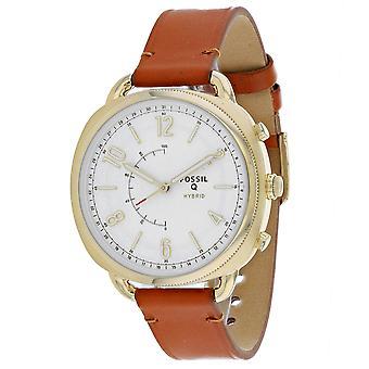 175, Fossil Men 's FTW1201 Quartz Brown Watch