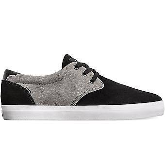 Globe winslow skate shoe - black/charcoal/white