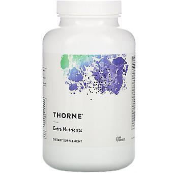 Thorne Onderzoek, Extra Voedingsstoffen, 240 Capsules
