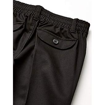 French Toast Girls' Big Pull-On Pant, Black, 7