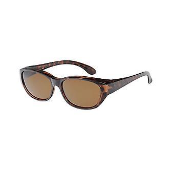 Óculos de Sol Conversão Unissex VZ-0049B marrom