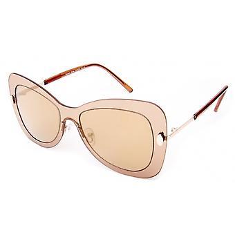 Sonnenbrille Unisex    gold/braun 18-055