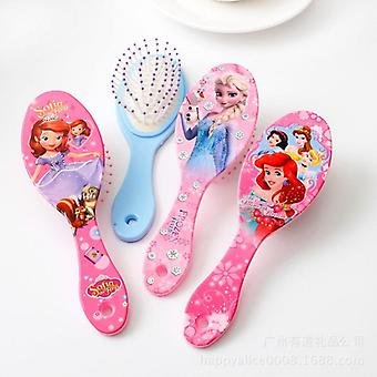 Disney Frozen Comb For Girls Princess Minnie Mouse Hair Brushes Hair Care Baby Toy