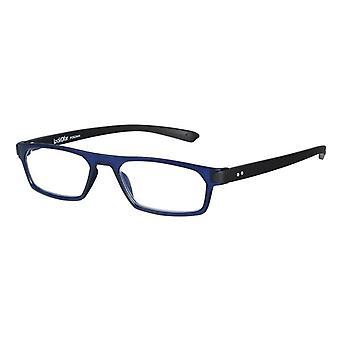 Lesebrille Unisex  Duo blau/schwarz Stärke +2,50 (le-0182C)
