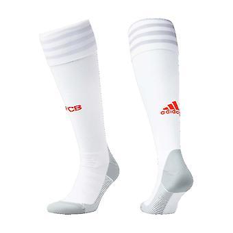 2020-2021 Bayern Munich Adidas Away Football Socks (White)