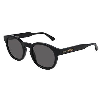 Gucci GG0825S 001 Black/Grey Sunglasses