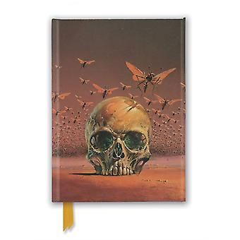 Bruce Pennington The Green Brain Foiled Journal by Created by Flame Tree Studio