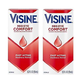Visine original vermelhidão alívio Eye Drops 2 Pack