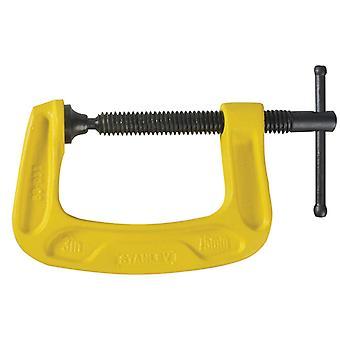 スタンレーツールベイリーGクランプ75mm(3in)STA083033
