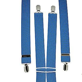 Ties Planet Royal Blue & White Polka Dot Men's Trouser Braces