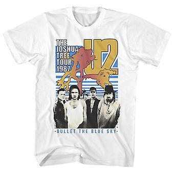 U2 T Shirt The Joshua Tree Tour 1987 U2 Shirt