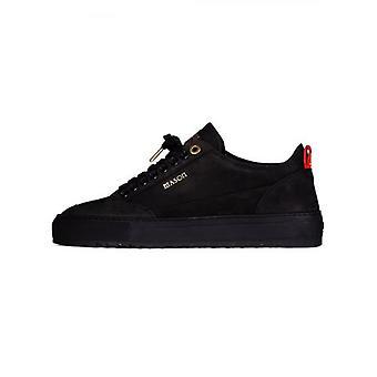 Mason Garments All Black Tia Nubuck Sneaker