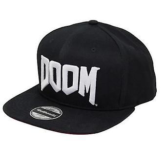 Clothing-Doom Snapback Logo Caps - Gaming Merchandise