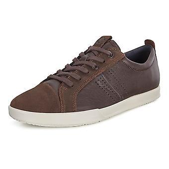 ECCO 536204 كولين الرجال & أبوس؛ق الدانتيل متابعة حذاء رياضي في القهوة