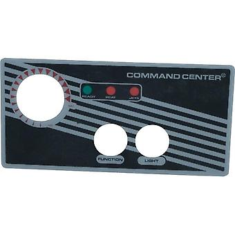 Tecmark 30214BM Command Center 2 Button Overlay