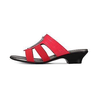 Karen Scott Womens Engle abierto diapositiva Casual sandalias