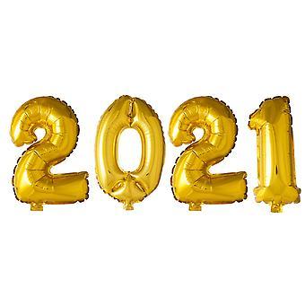 Folieballonger Guld 2021 | Ballonger till Studenten | Fest