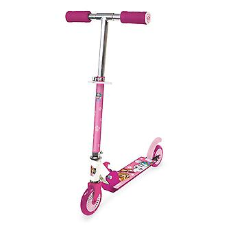Paw Patrol Skye Children's Foldable Two-Wheel Inline Scooter Girl Pink OPAW112-F