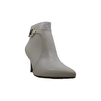 LifeStride Womens Samara Leather Pointed Toe Ankle Fashion Boots