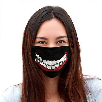 東京グールカネキケンマスク調節可能フェイスカバー