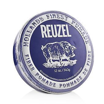 Reuzel Fiber Pomade (Firm, Pliable, Low Shine, Water Soluble) 340g/12oz