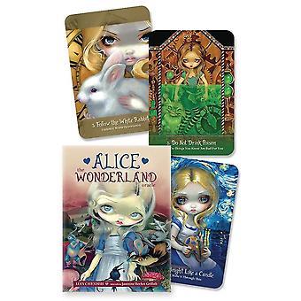 The Wonderland Oracle Tarot kort för familjen Barn Spel