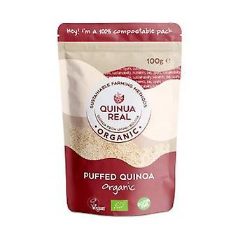 "Organic real puffed quinoa ""pipocas"" gluten free 100 g"
