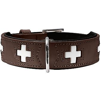 Hunter Swiss Brown Collar (Dogs , Collars, Leads and Harnesses , Collars)