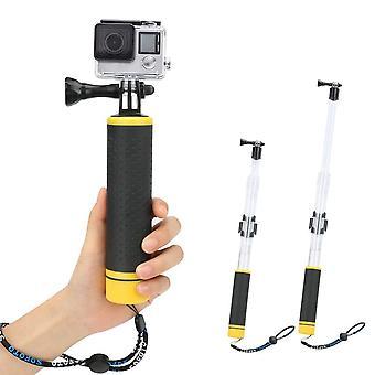 2 In 1 impugnatura galleggiante mano impermeabile palo telescopico, poggia selfie impermeabile bentop regolabile est