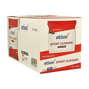 Sport Gummies (Flavor Cola) 12 units of 40g