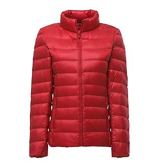 Women Ultra Light Down Feather Jacket Plus Women's Overcoat Windbreaker Coats