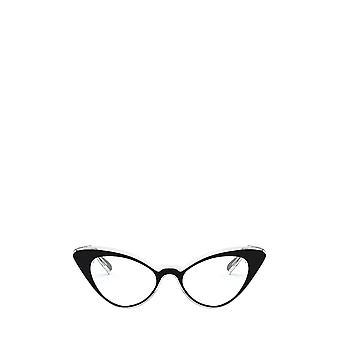 Vogue VO5317 top black / crystal female eyeglasses