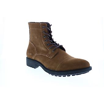 Frye & Co. Cody Lace Up  Mens Brown Suede Casual Dress Boots
