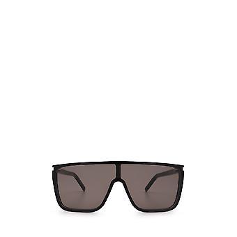 Saint Laurent SL 364 MASK ACE musta unisex aurinkolasit