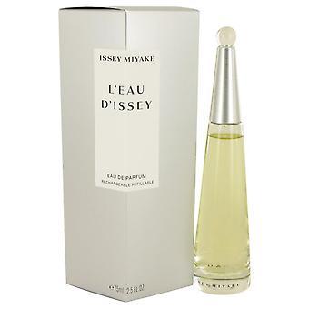 L'Eau d'Issey (issey Miyake) Eau De Parfum Spray recarregáveis por Issey Miyake 2,5 oz Eau De Parfum Spray recarregáveis