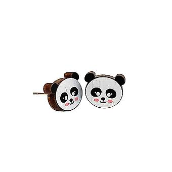 Panda Saplama Küpeleri
