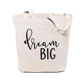 Unelma iso puuvilla canvas tote laukku